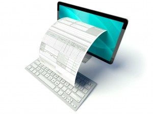 Электронная отчётность через Интернет