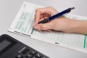 Заполнение бланка налоговой декларации по УСН